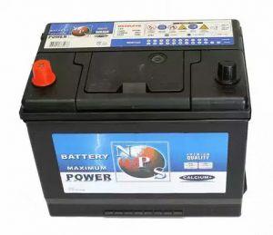 Battery 70 Ah 257x172x200mm  NPS U540L67B
