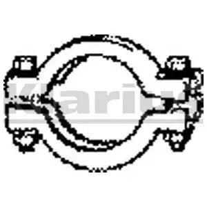 Pipe Connector, exhaust system KLARIUS VAP24