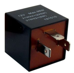Flasher Relay - 12V - 92A - 3-Pin - Plug Type